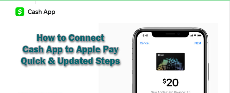 Cash App to Apple Pay