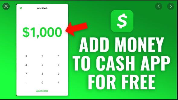 add money on the cash app