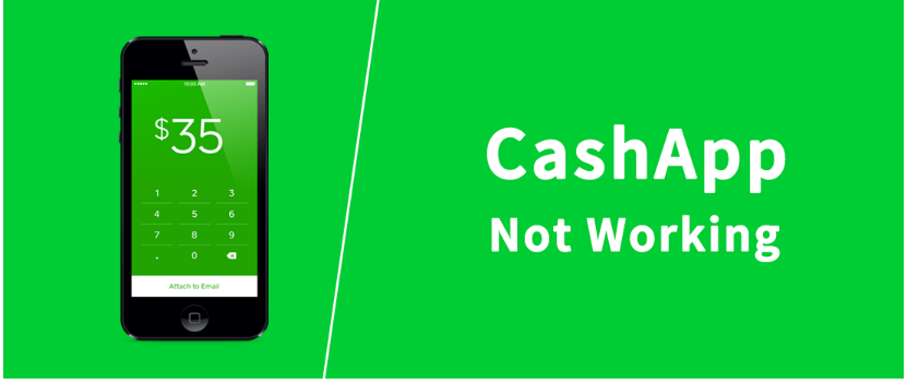 cash app not working