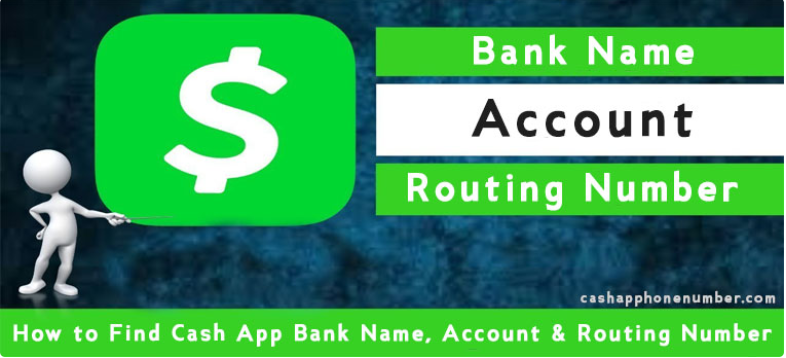 Cash App routing number