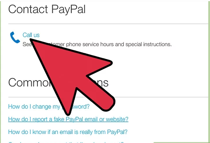 Contact PayPal