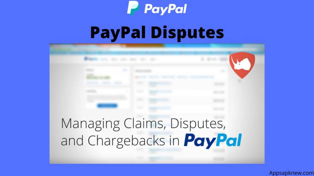 PayPal Dispute